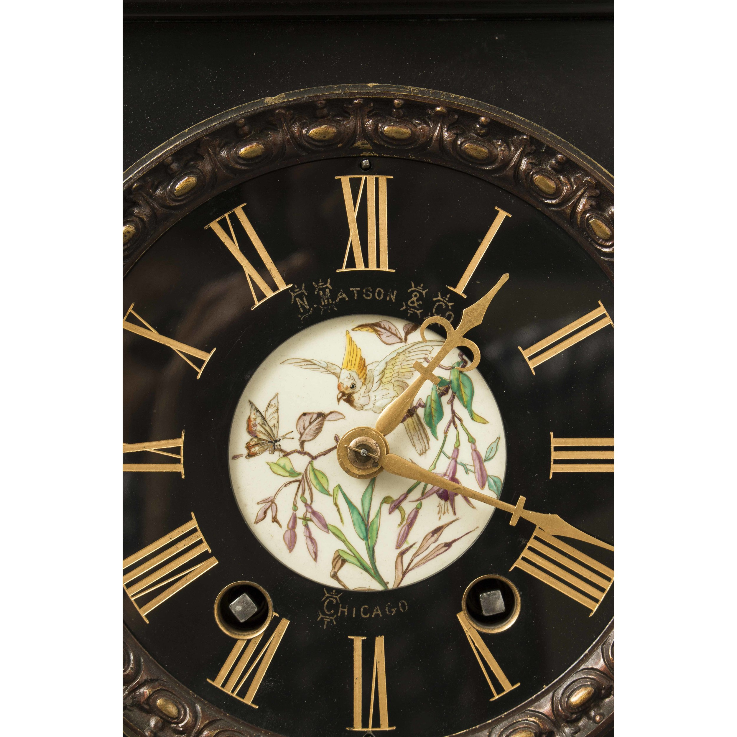 E. Lourdelet Aesthetic Clock | Witherell's Auction House