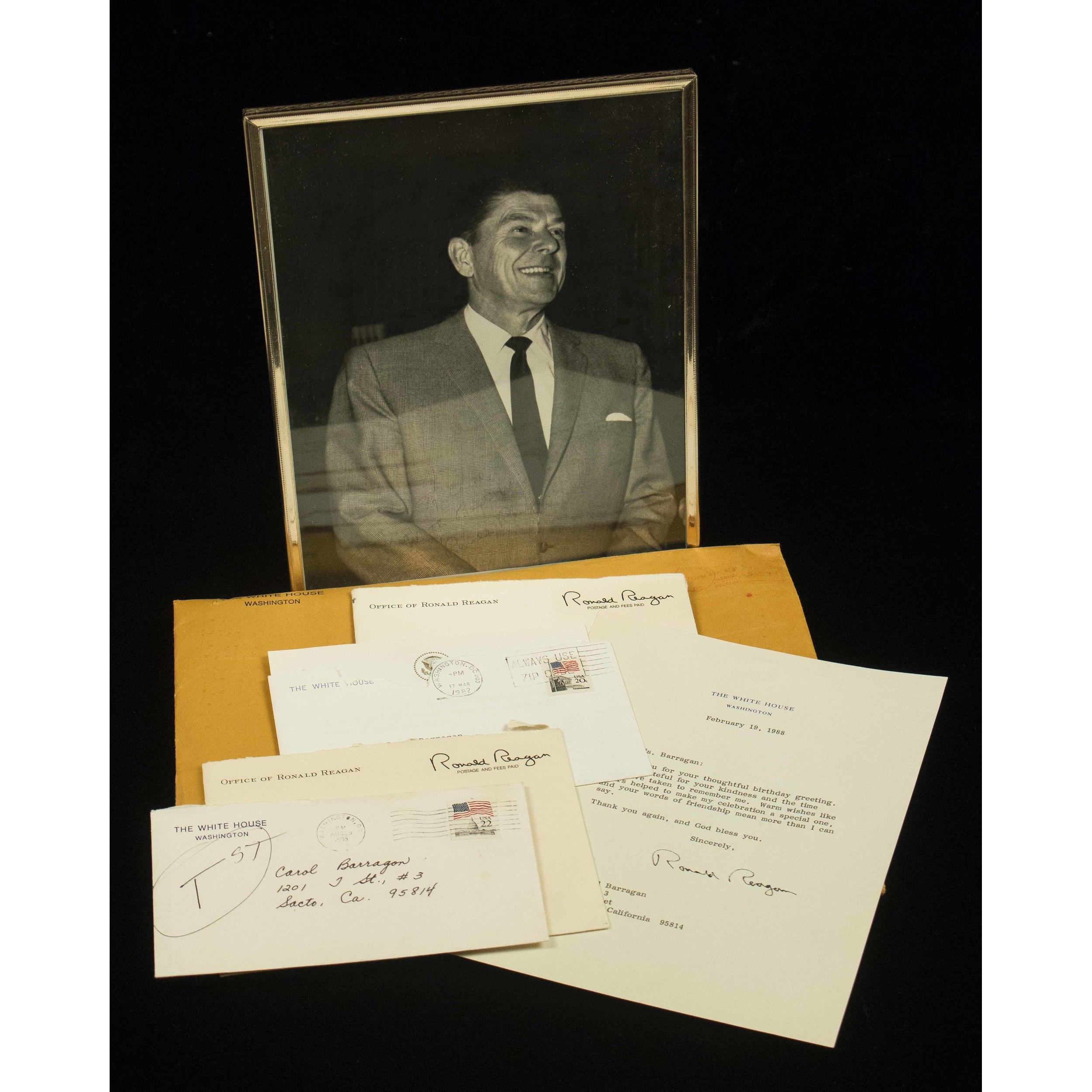 Ronald Reagan Memorabilia Witherells Auction House