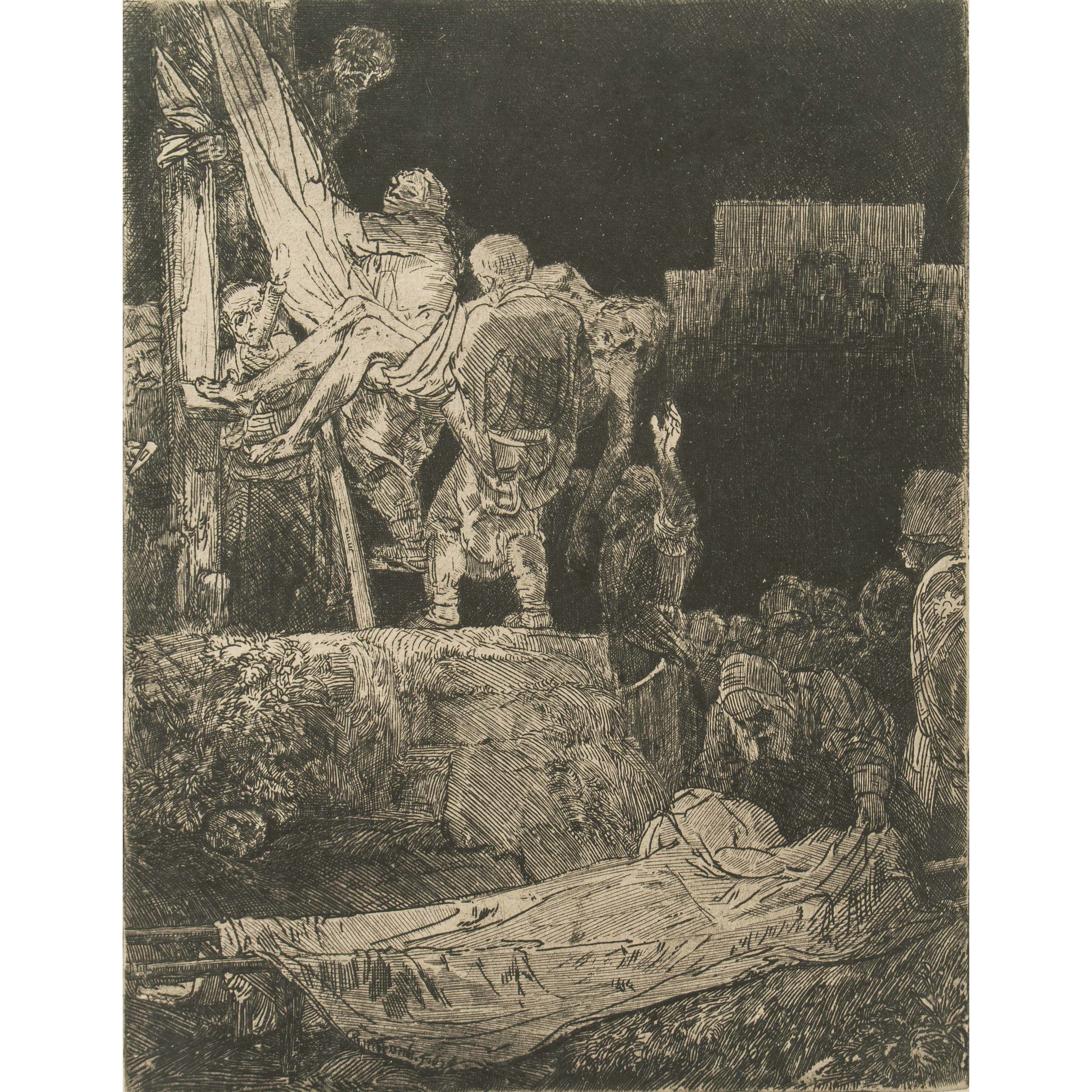 Rembrandt Van Rijn Etching Witherell S Auction House