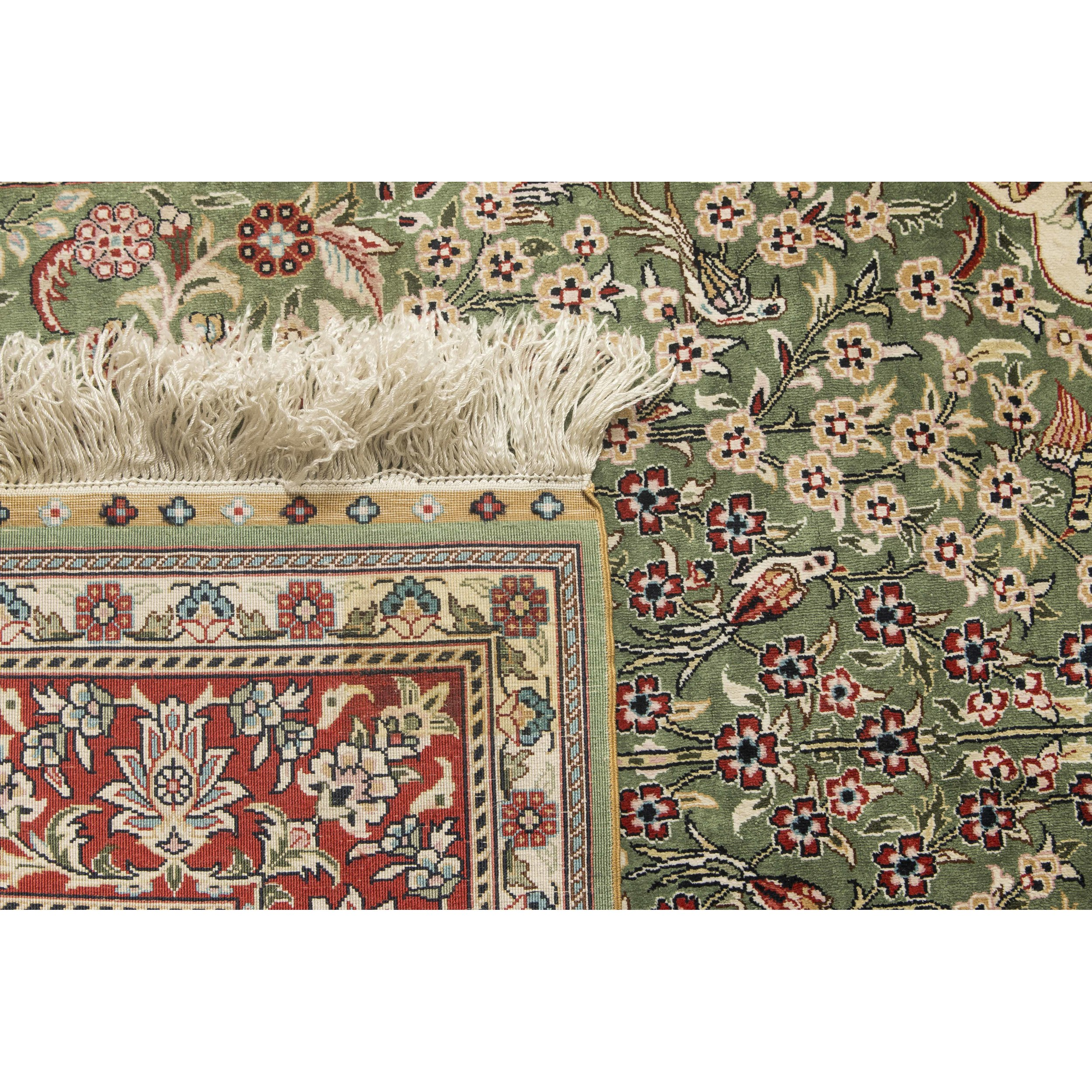 Persian Tabriz Prayer Rug Witherell S Auction House
