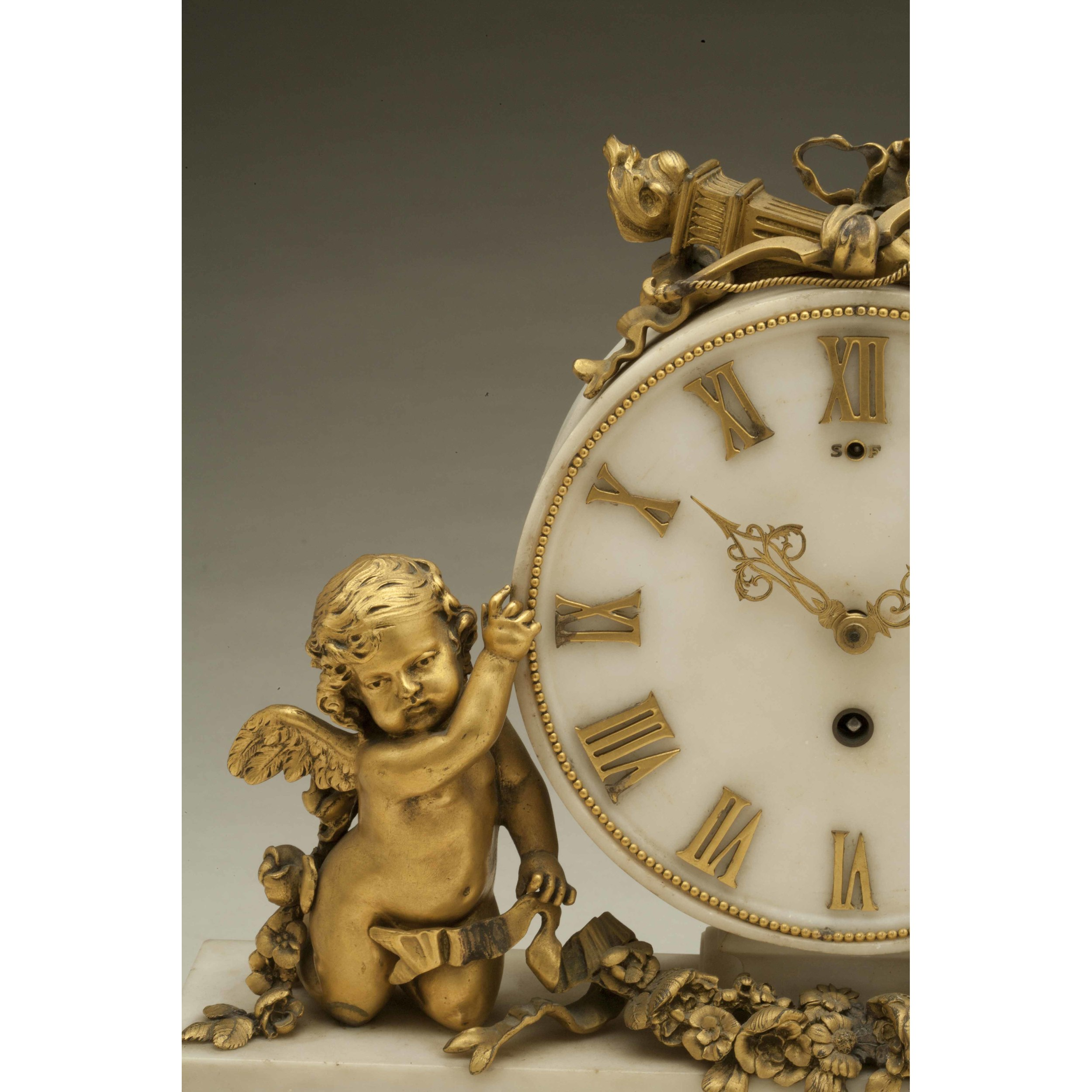 Edward F Caldwell Mantel Clock Witherell S Auction House