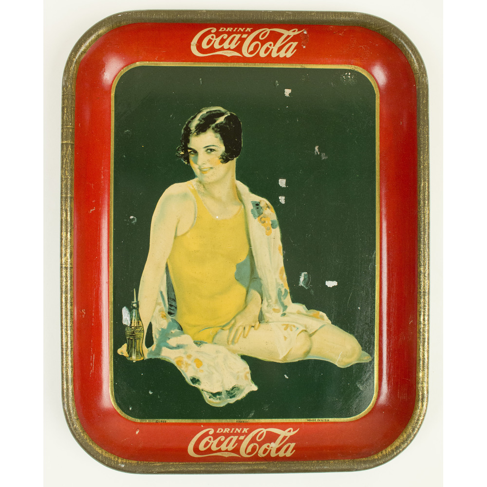 Coca-Cola Trays: 1929, 1930, 1933, 1934 | Witherell's Auction House