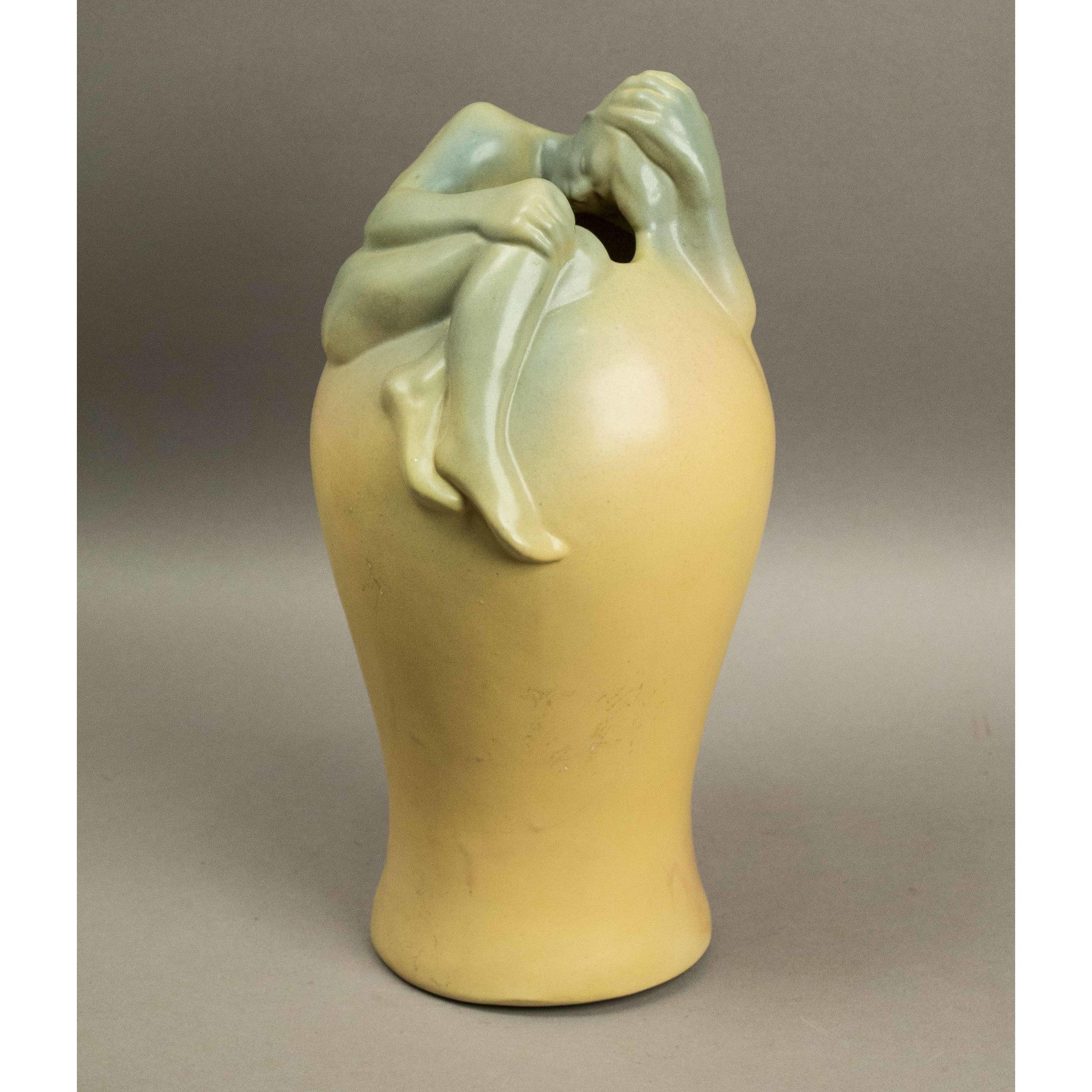Van briggle vase despondency witherells auction house van briggle vase hover to zoom reviewsmspy