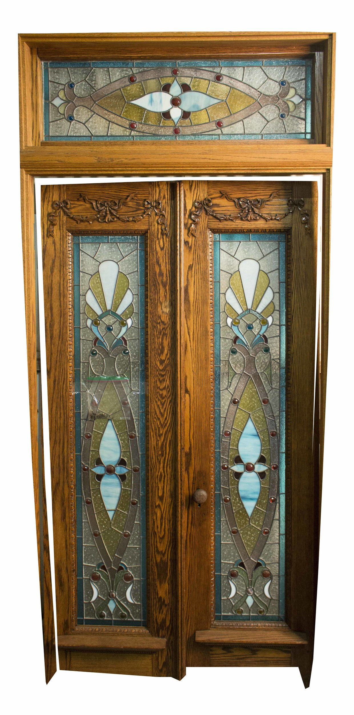 American Stained Glass Entry Door And Transit Window Witherells