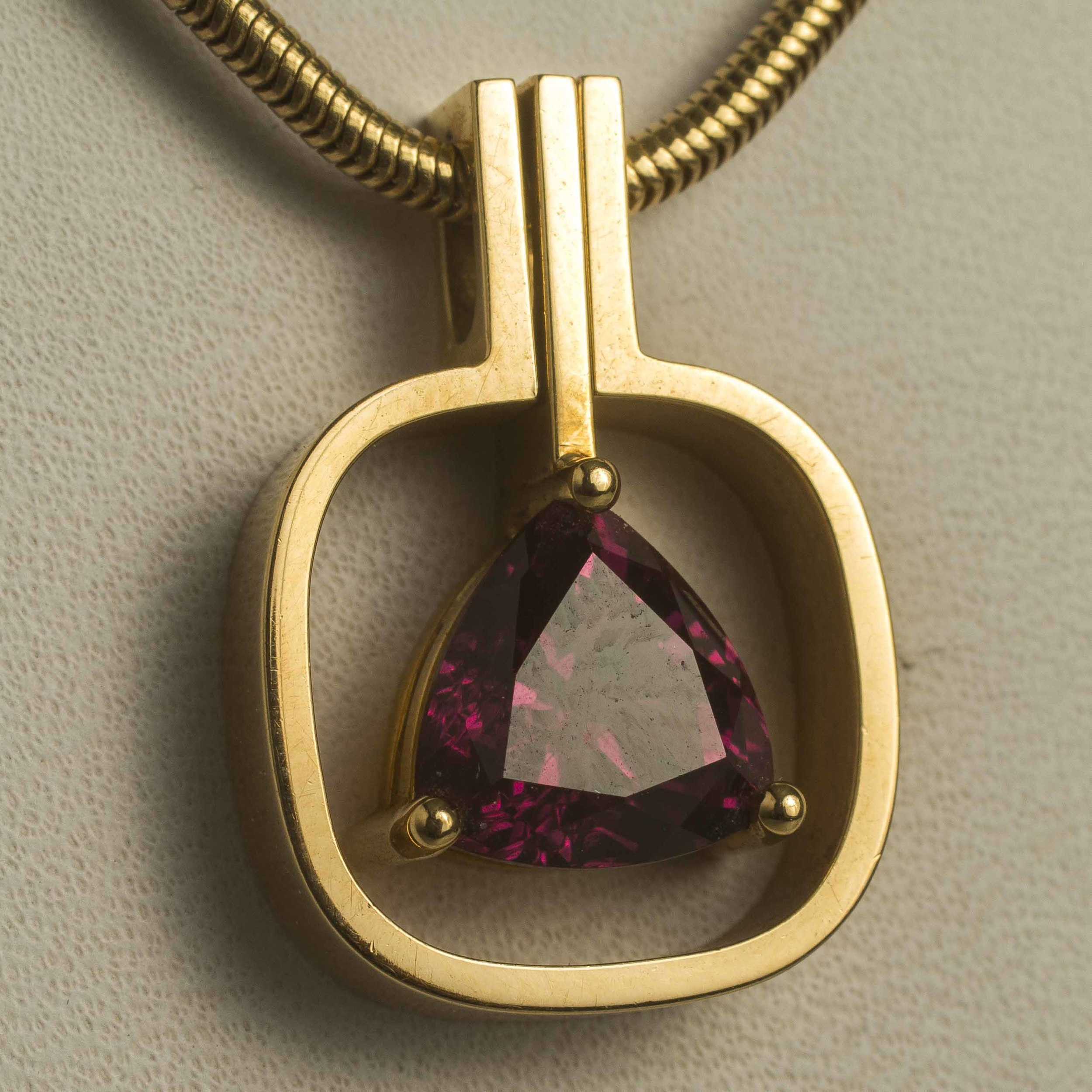 yellow pendant necklace studio white product garnet cedar rhodolite rhodalite gold