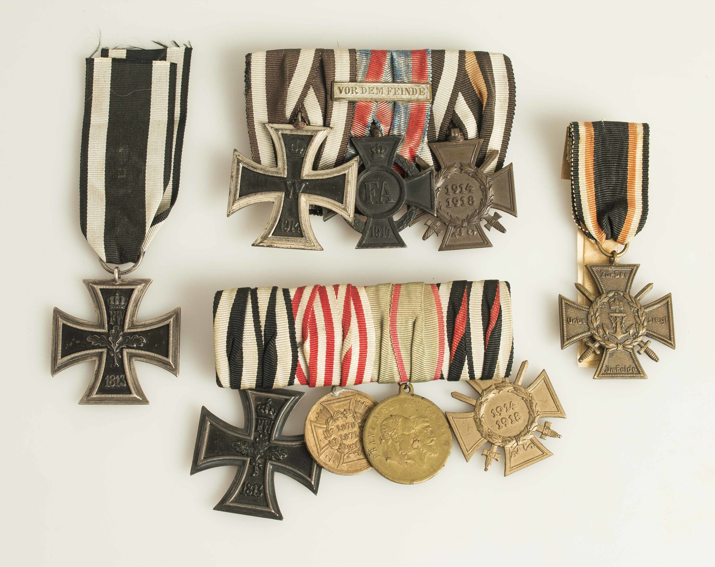 Imperial German Medal Groups and Single Medals