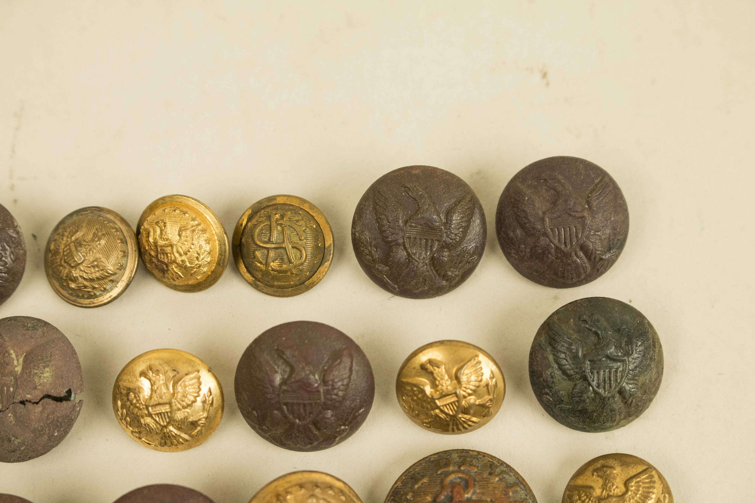 Civil War, Indian War and Earlier US Buttons | Witherell's Auction House