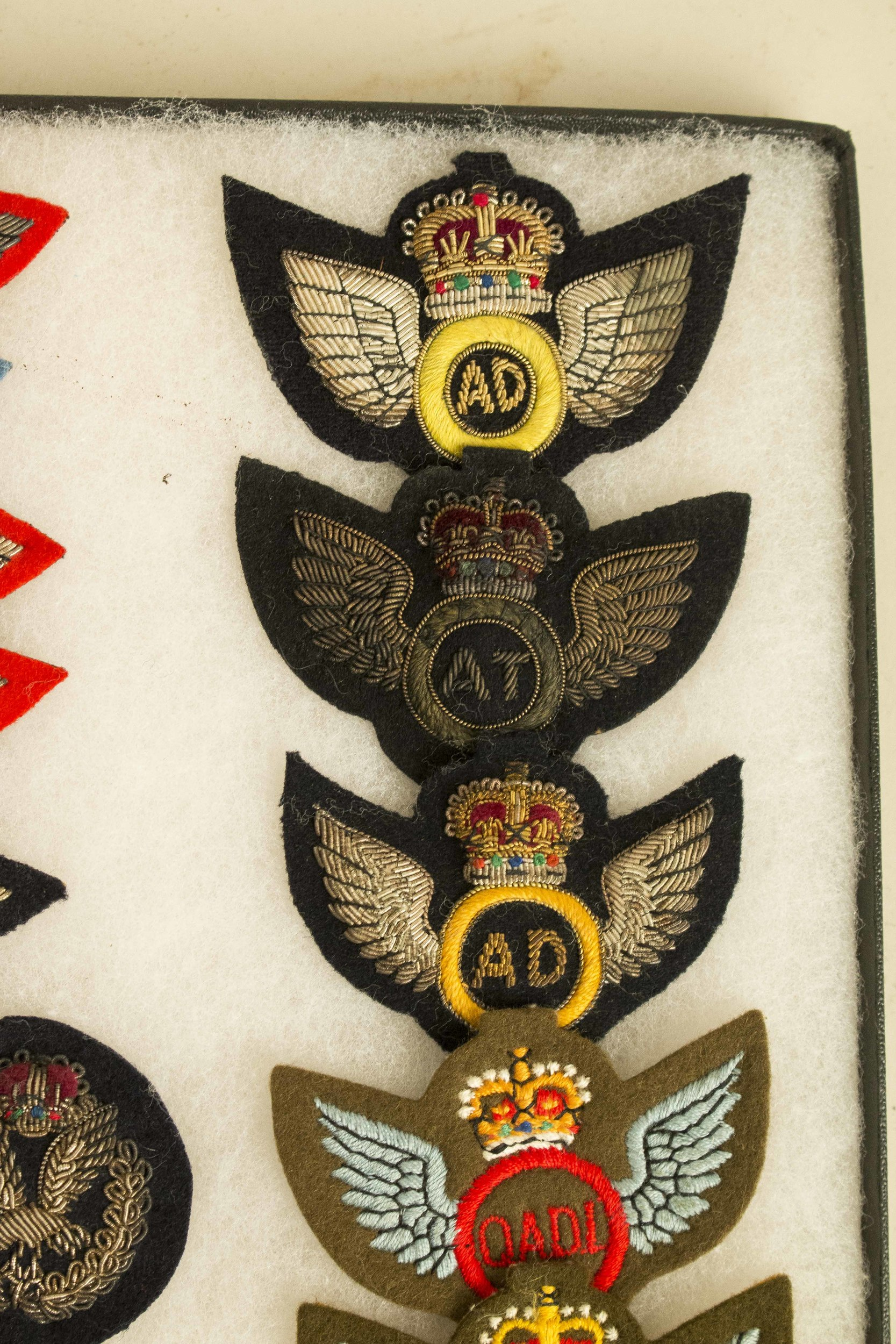 Collection of Scarce British Army Glider and Pilot Wings and Badges