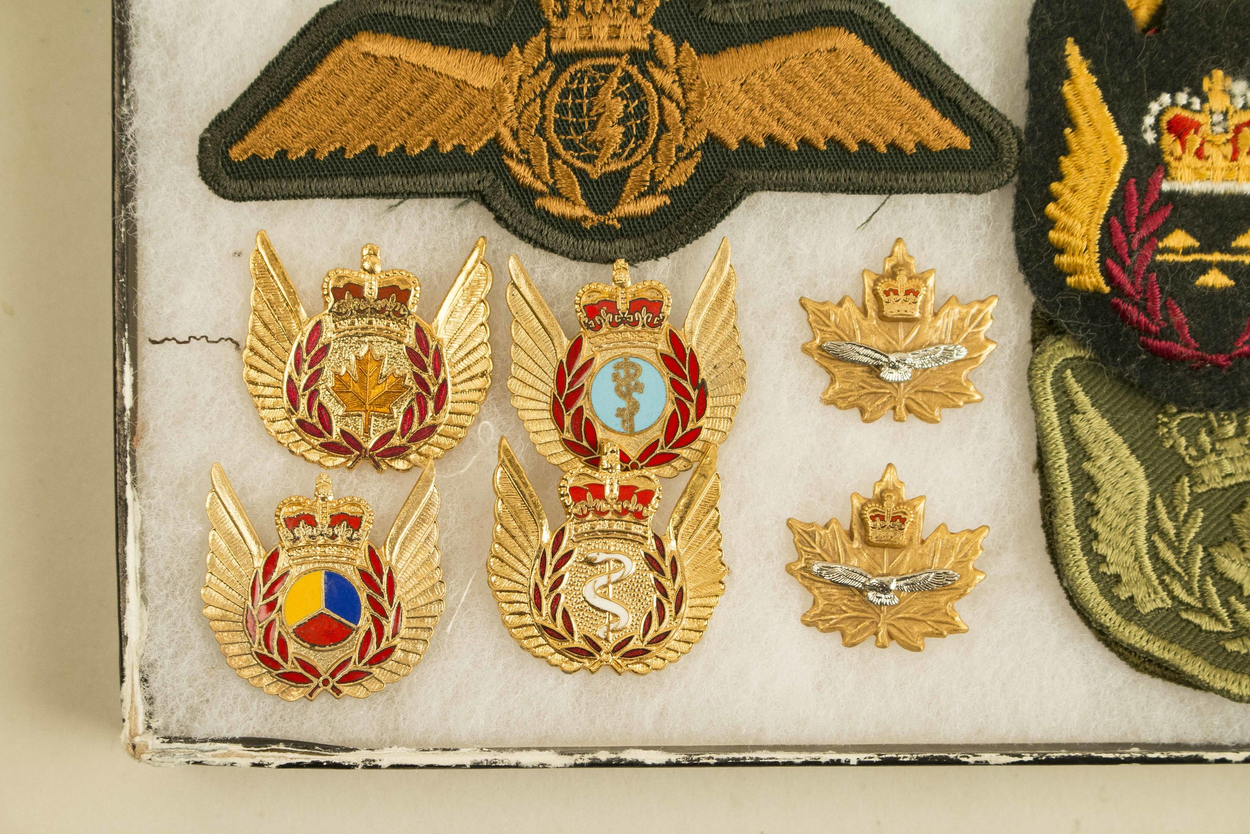 Royal Canadian Air Force Queen Elizabeth Ii Collection Wings And