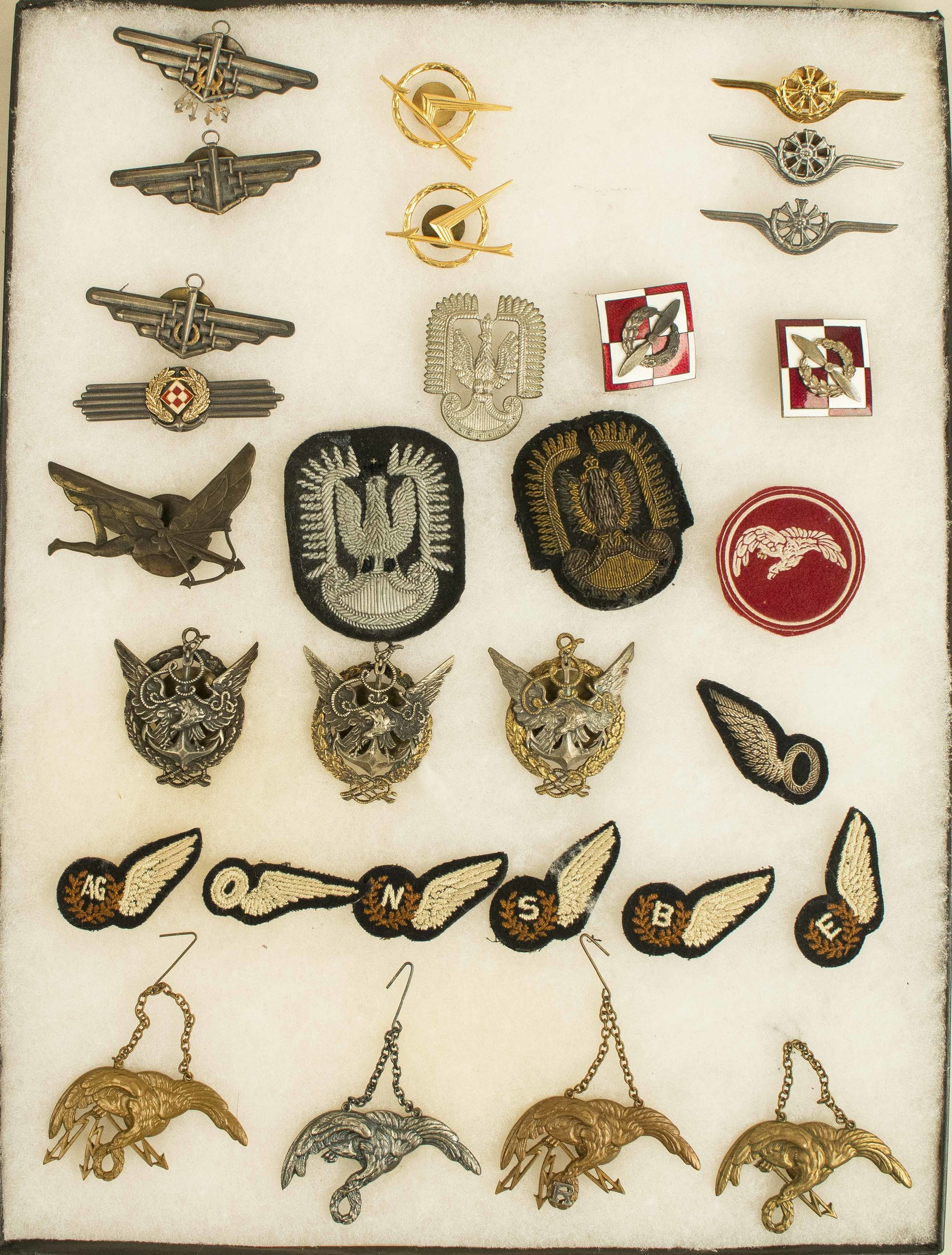 Polish Aviation Medals and Badges, mostly pre-WWII | Witherell's