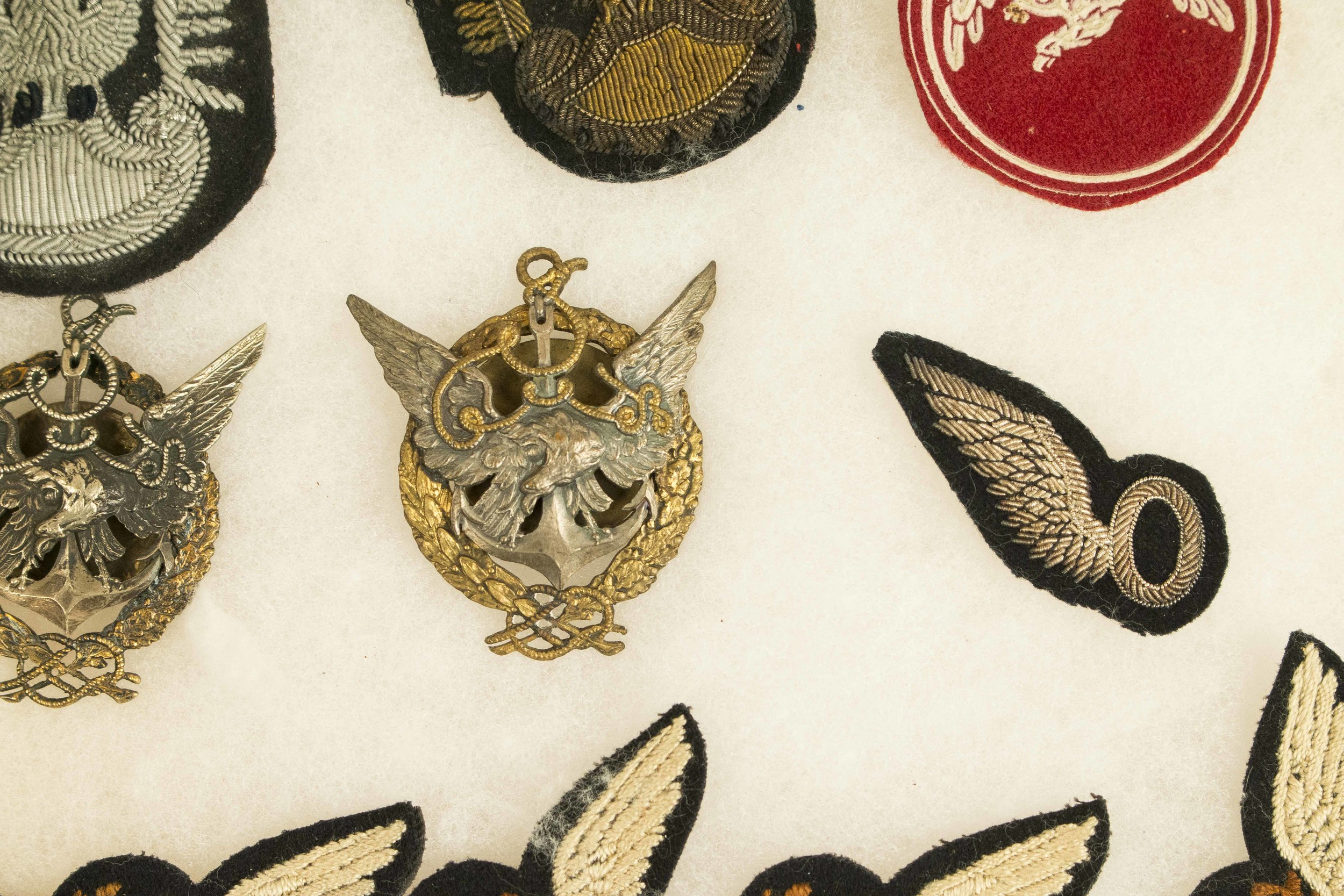 Polish Aviation Medals and Badges, mostly pre-WWII