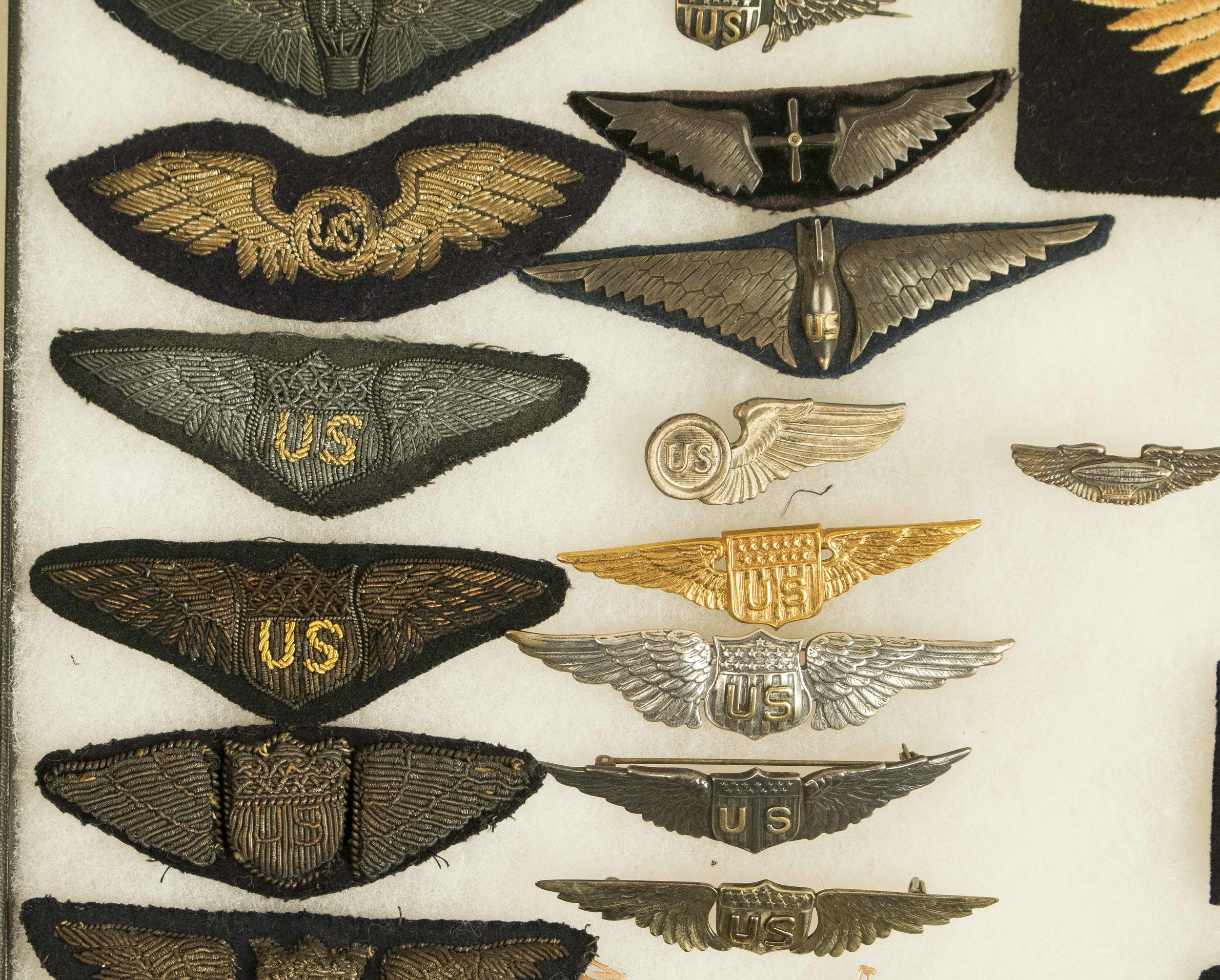US WWI and 1920'S Style Army Air Corps Wings   Witherell's Auction House