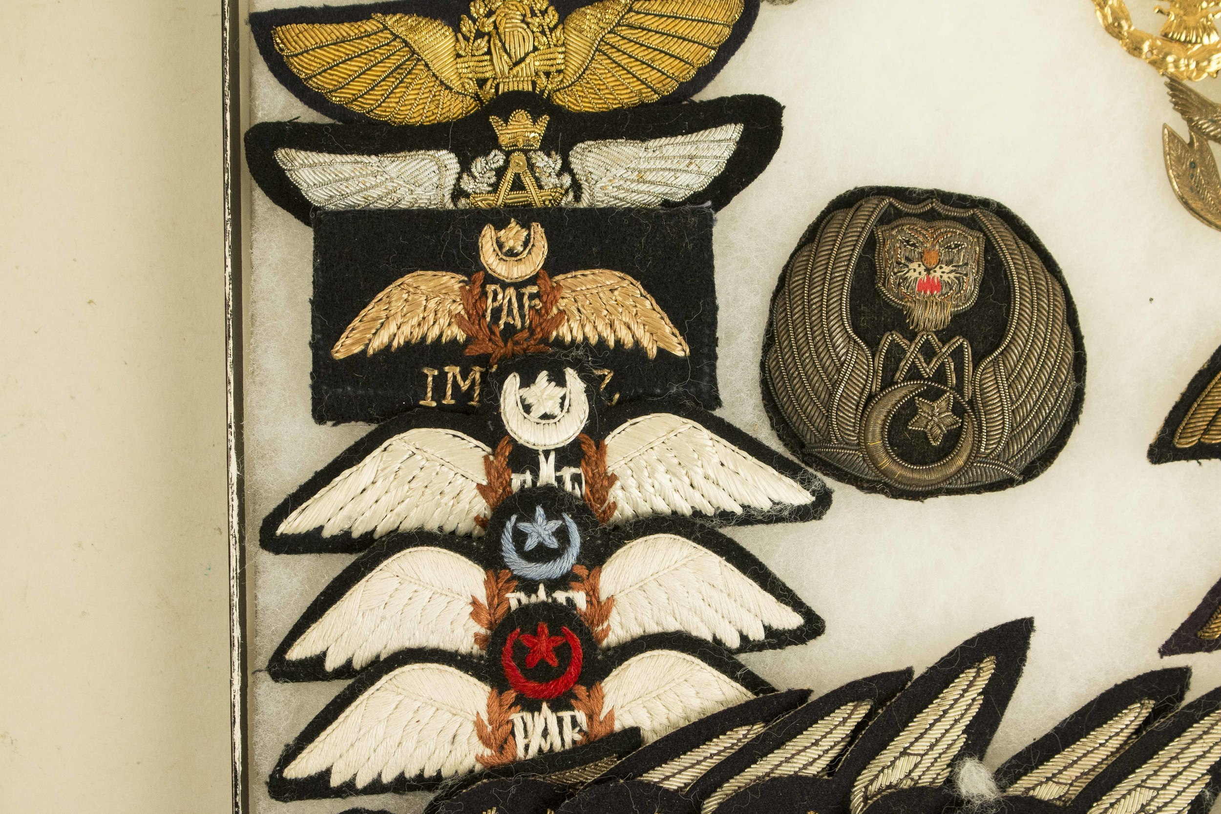 Indian, Pakistani, and Afghan Wings and Flight Badges (2