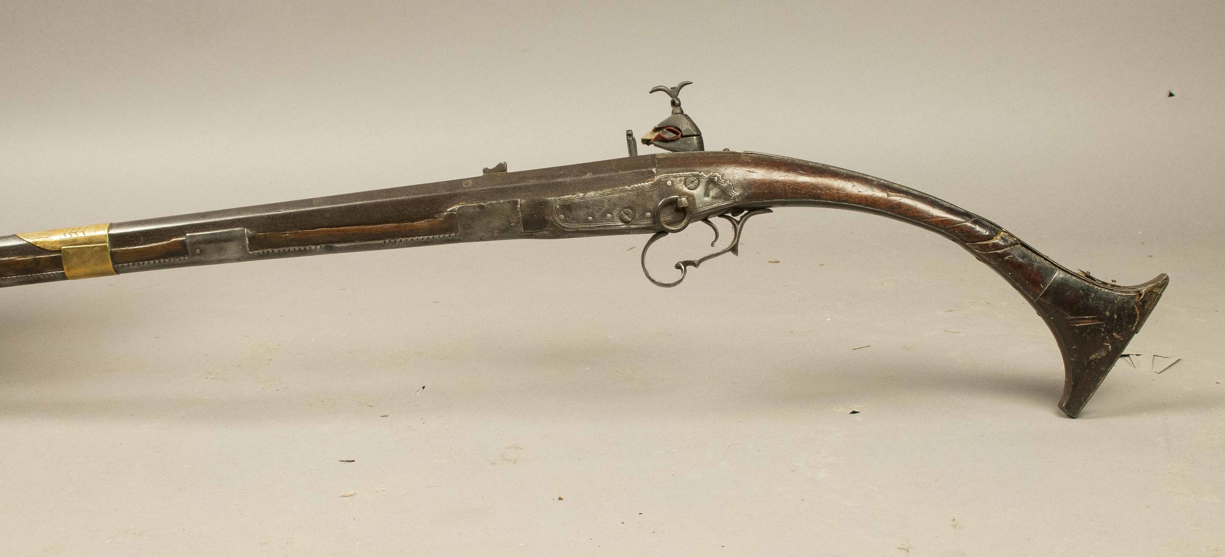 Jezail Exceptional Arab Musket With Italian Barrel And