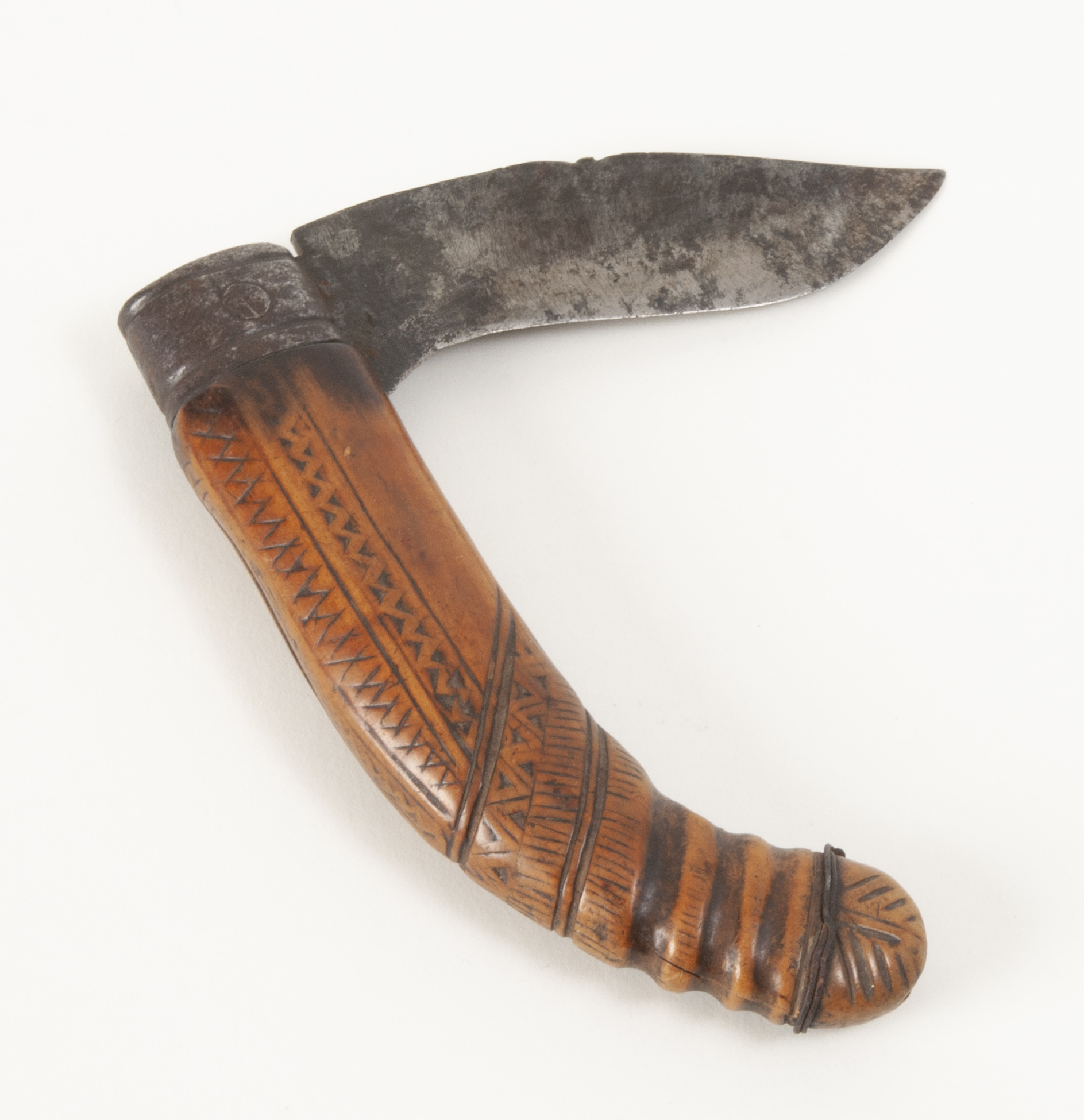 Old Spanish Folding Knife or Short Navaja | Witherell's