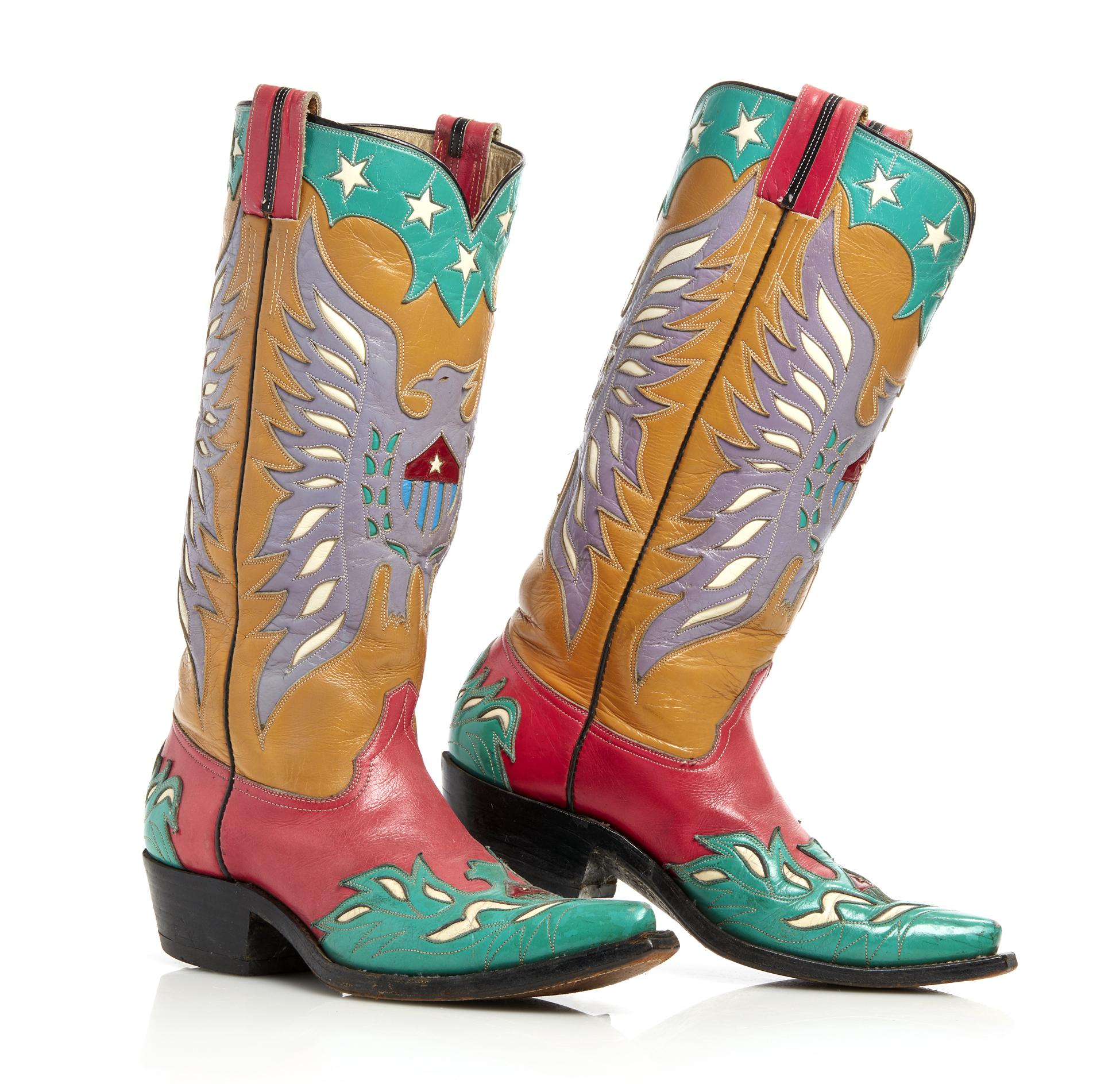 0b790961d85 Unique Vintage Cowboy Boots | Witherell's Auction House