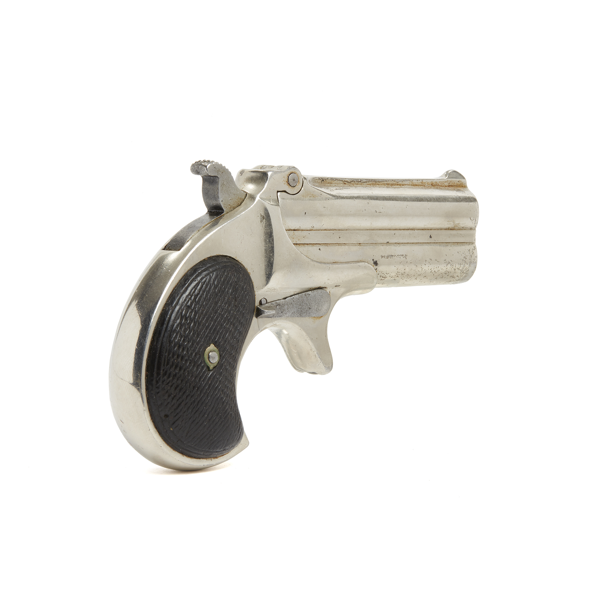 Remington Double Barrel Derringer   Witherell's Auction House