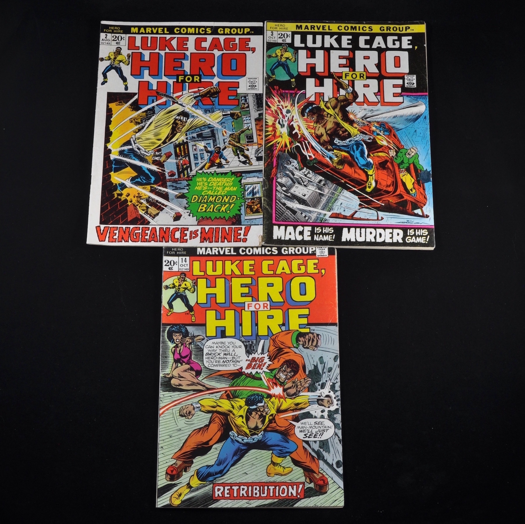 Marvel's Luke Cage Collection (1972-1976) - Group of Five