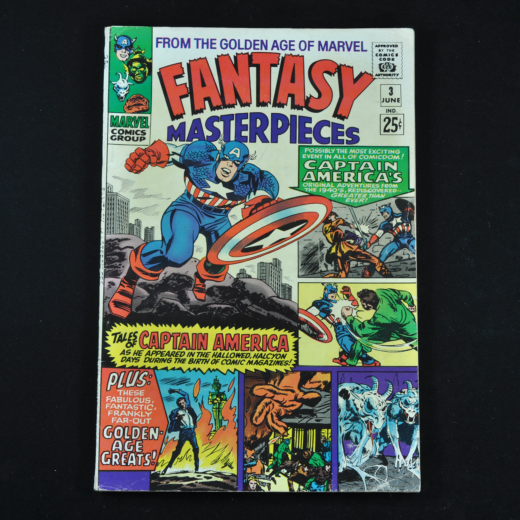 Marvel's Fantasy Masterpiece Comic Collection (1966-1967) - Group of