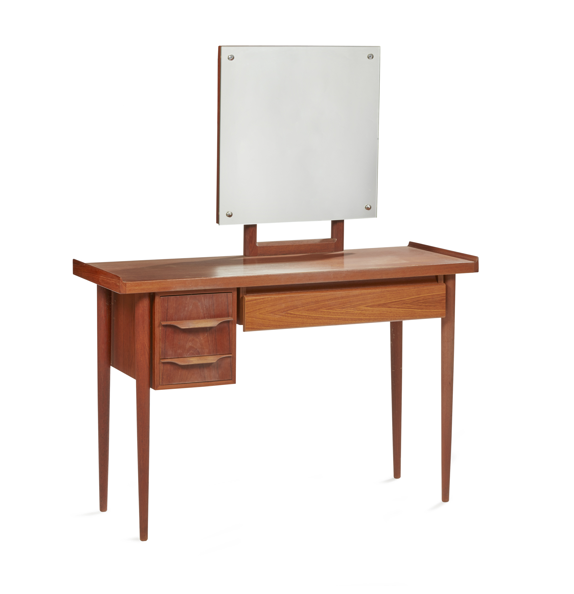 Mid Century Danish Modern Dressing Table Witherell S Auction House