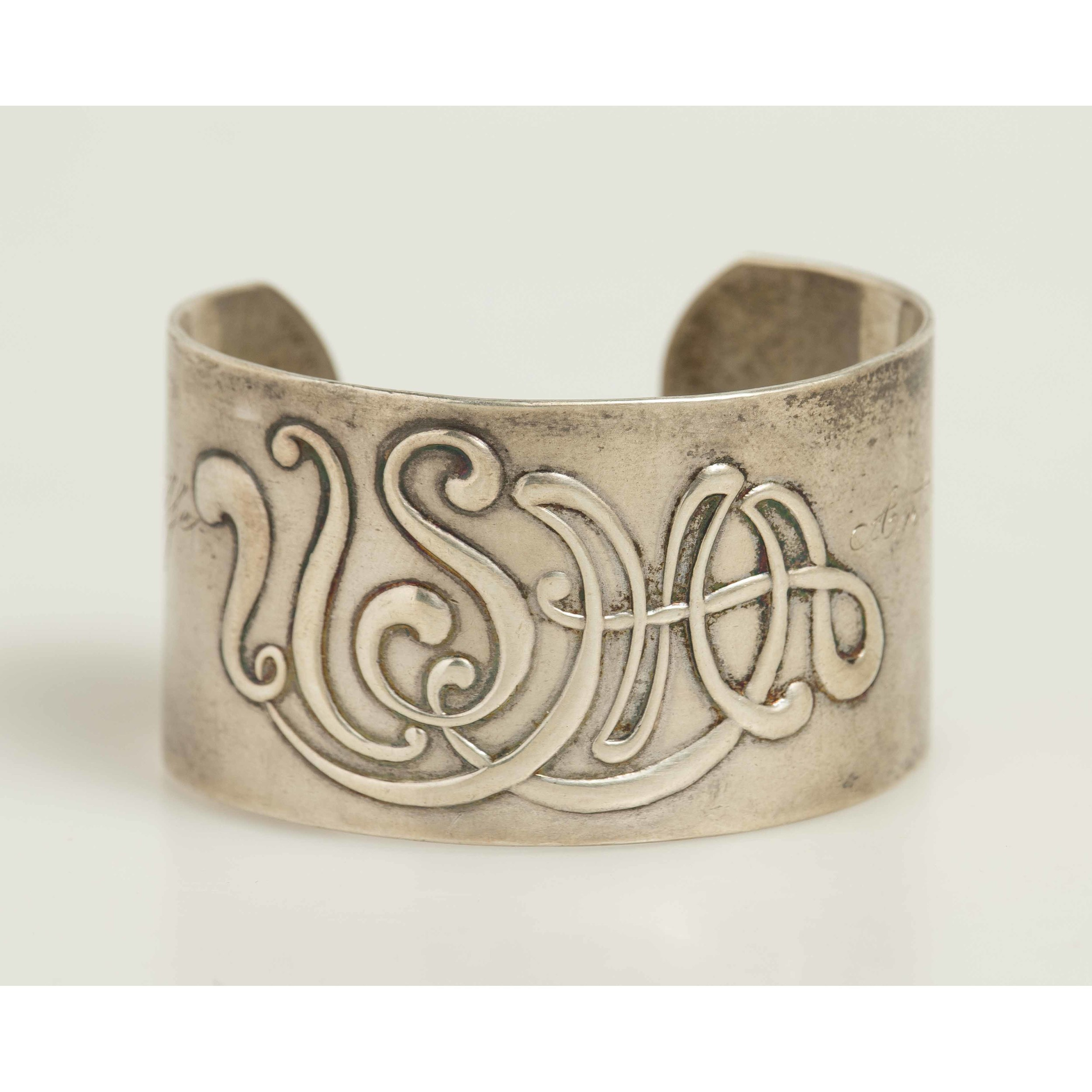 General Anthony McAuliffe Dieges \u0026 Clust Sterling Cuff Bracelet