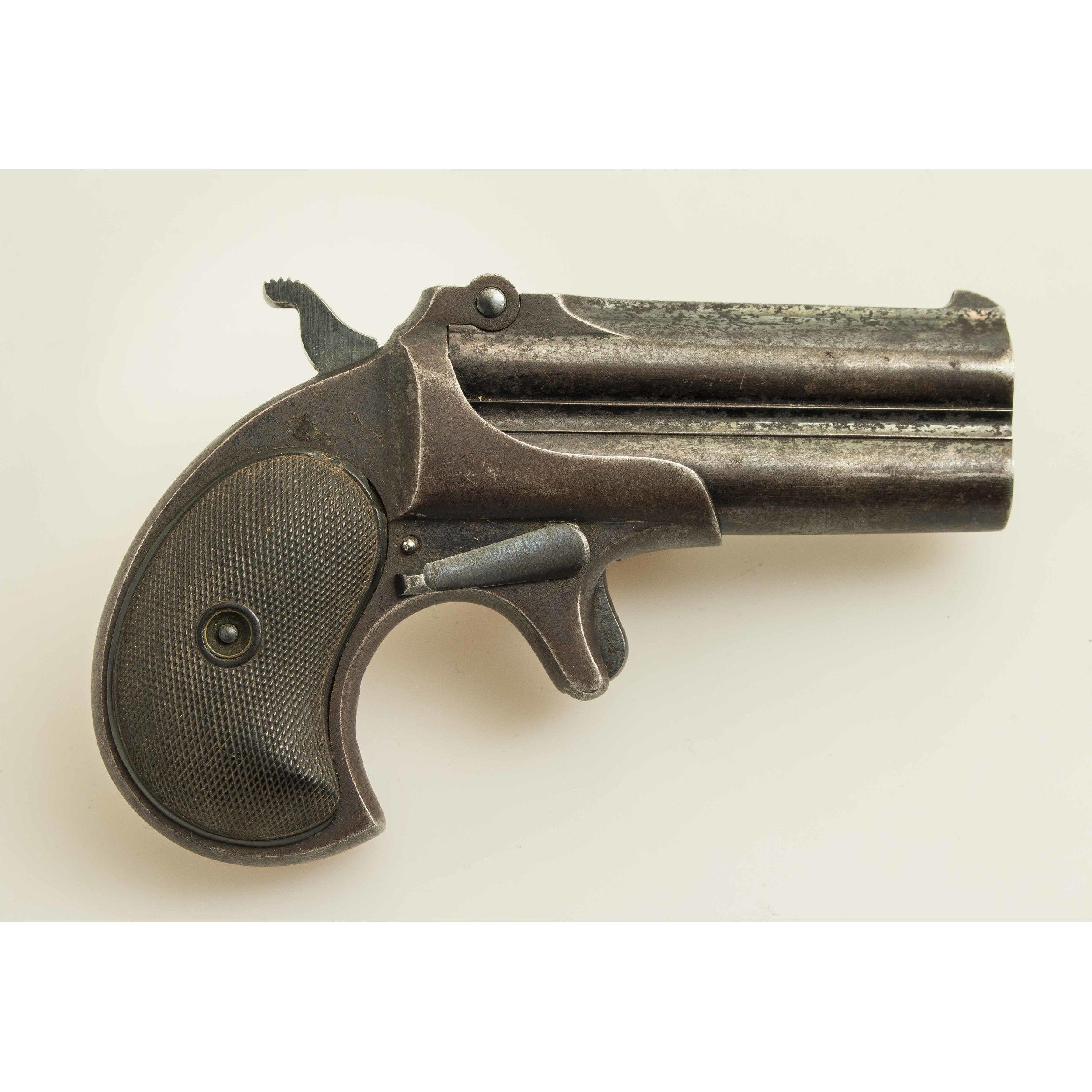 Remington UMC Double Barrel Derringer   Witherell's Auction House