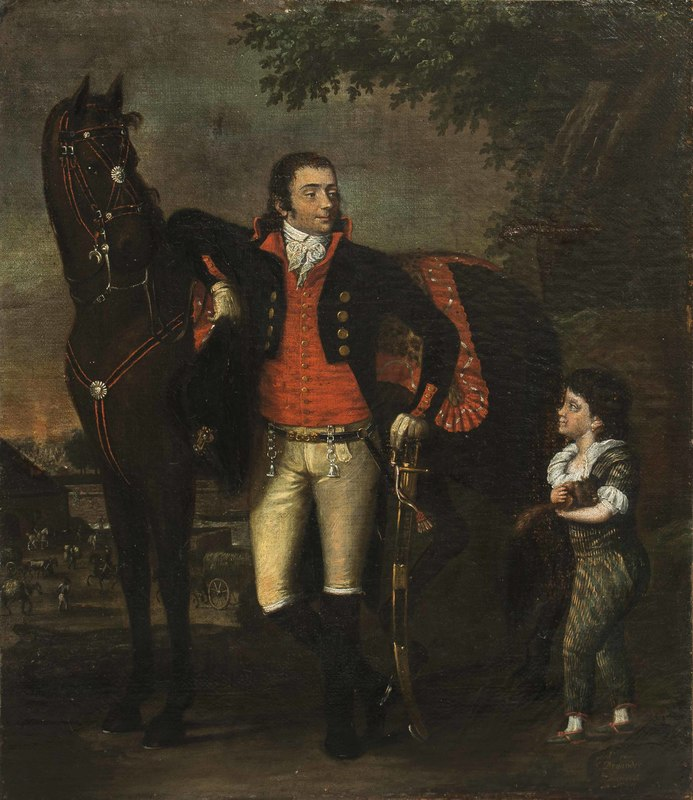 Johann-Friedrich Dryander Painting