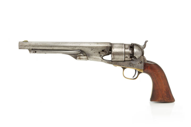Model 1860 Colt Army Revolver, Serial no. 63340