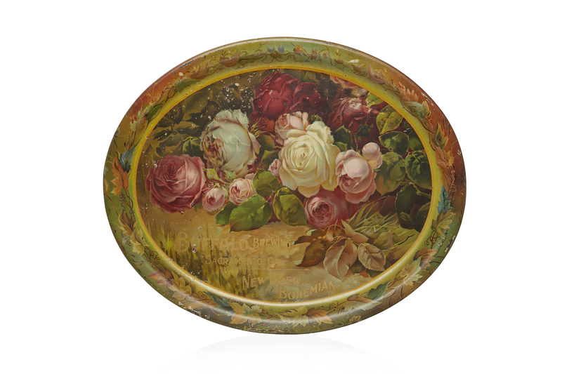 Buffalo Brewing Beer Tray, Rose Still Life