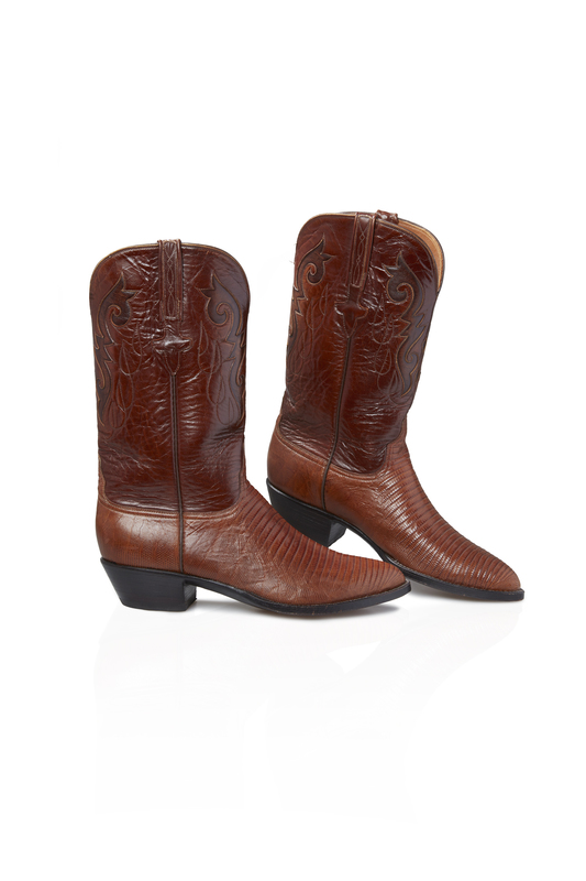 Pair of Men's Lucchese Cowboy Boots, 9.5 D