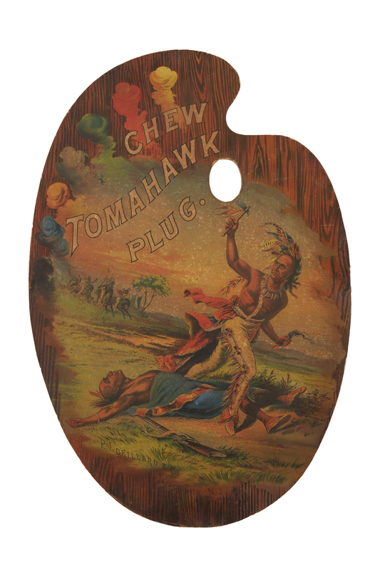 Chew Tomahawk Plug Artist Pallet Advertisement