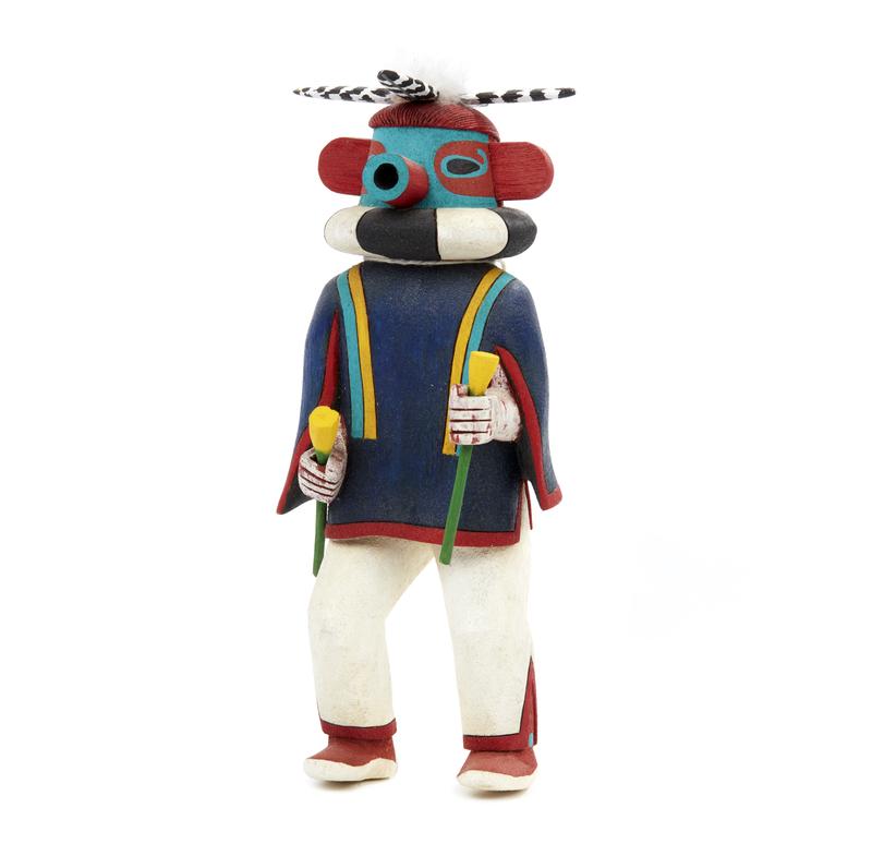 "Hopi War Leader Kachina ""Kipok"""