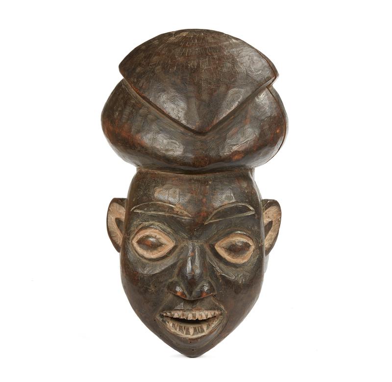 Bamun, Cameroon Wood Mask