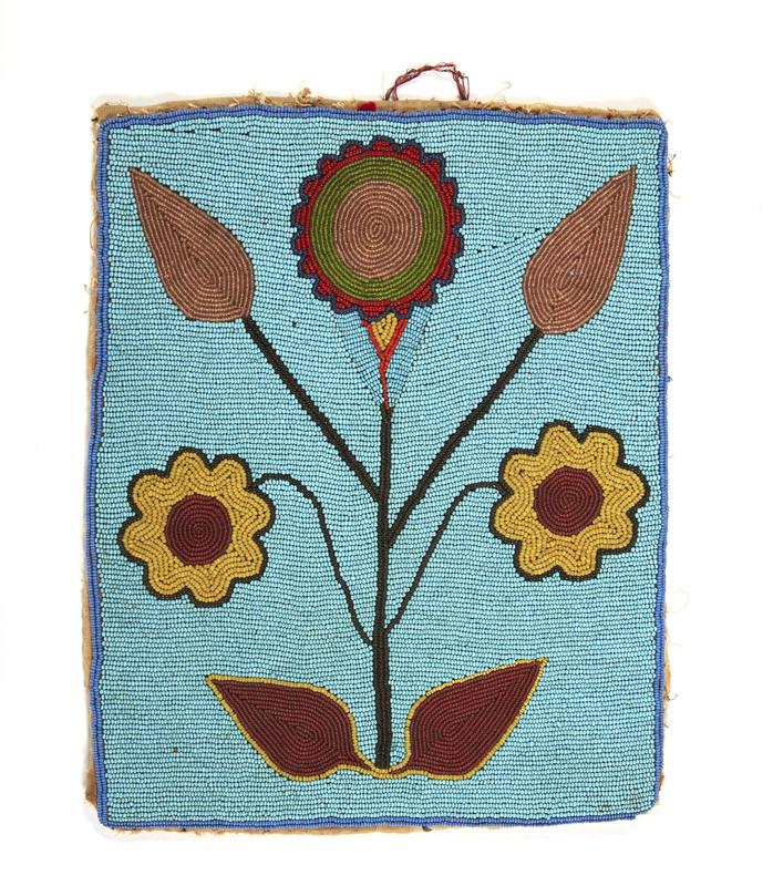 One Sided Plateau Corn Husk Bag