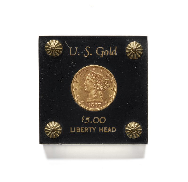 Cased $5 Liberty Half Eagle Gold Coin
