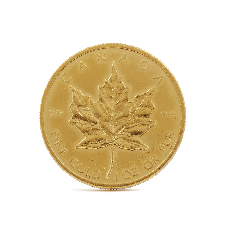 1979 $50 Canadian Maple Leaf Gold Coin