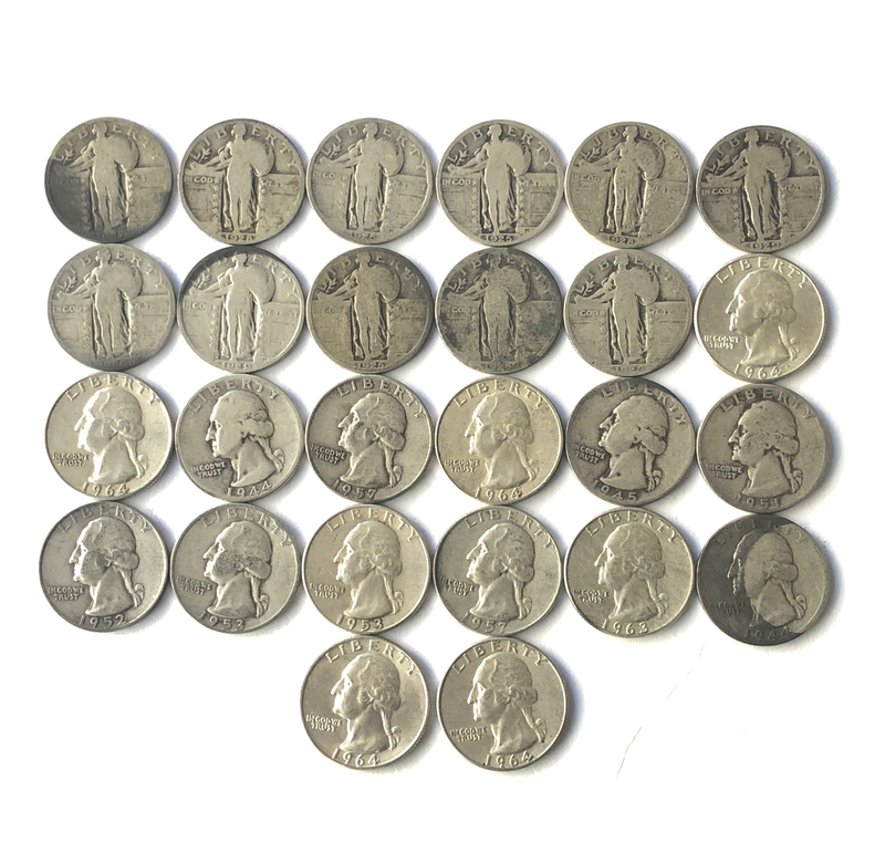 U.S. Quarters from the Early 20th Century
