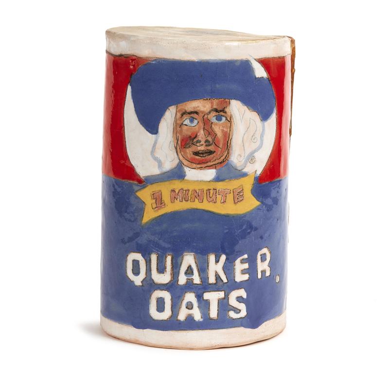 Quaker Oats Ceramic Sculpture