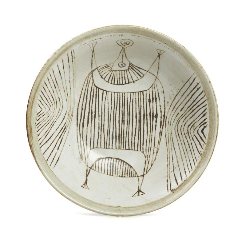 Ceramic Bowl, Antonio Prieto (1912-1967)