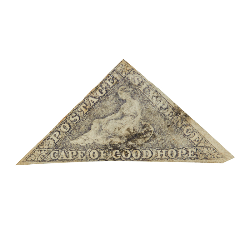Cape of Good Hope Stamps, 1853-1858 Printed by Perkins, Bacon and Co. - #5b, qty 1, F, cat $540