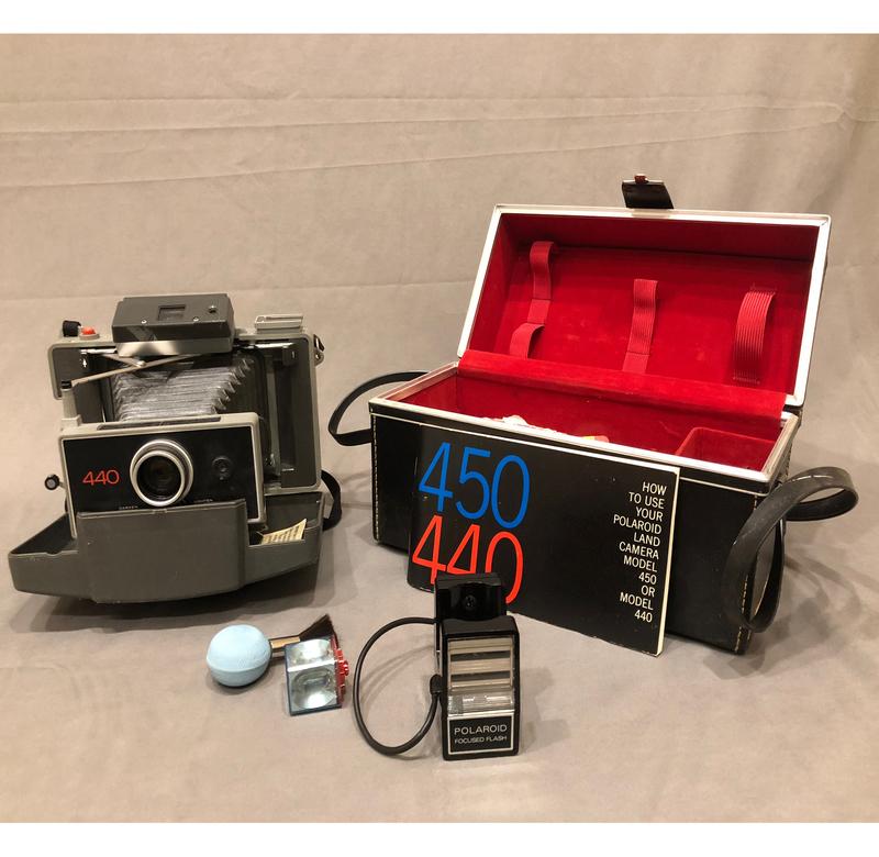 Polaroid Land Camera Model 440