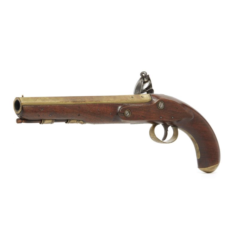J.P. Moore, New York Flintlock Pistol