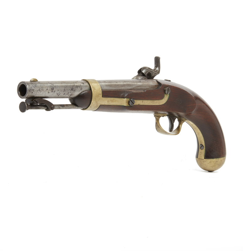 U.S. Model 1842 Pistol by Aston
