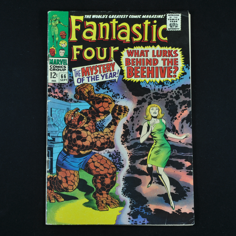 Marvel's Fantastic Four #66 and #67, 1967 (Origin and First Appearance of Him, Adam Warlock)
