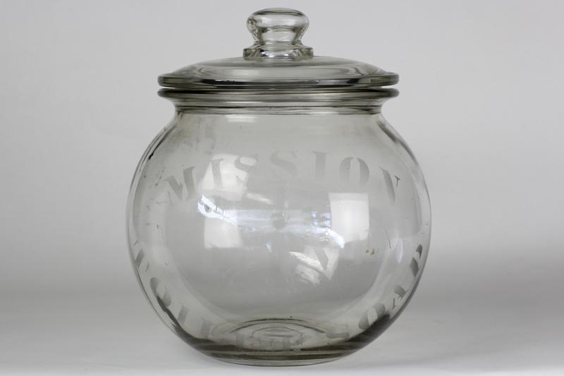 Antique Glass Display Jar