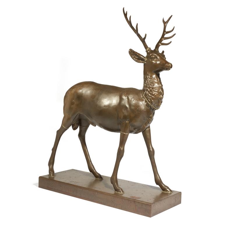 J.W. Fiske, Deer