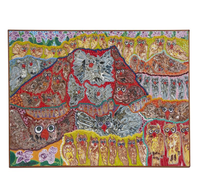 Painting, Maija Peeples Bright (20th century),