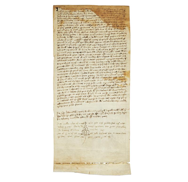 Legal Document on Vellum dated 1465