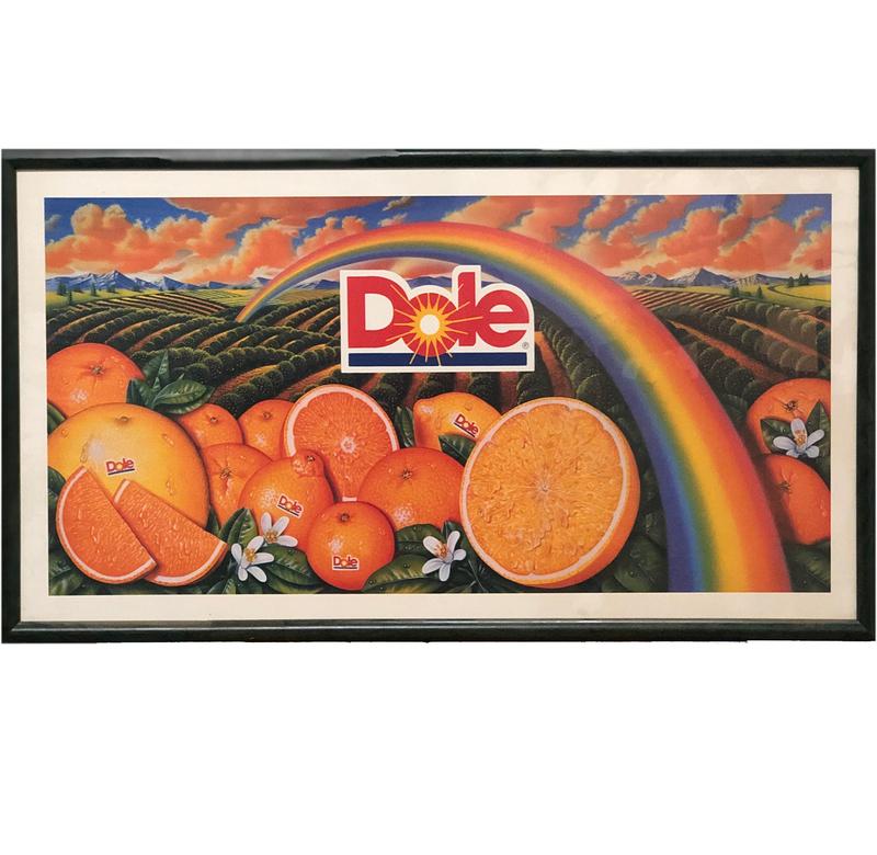 Dole Orange Advertisement