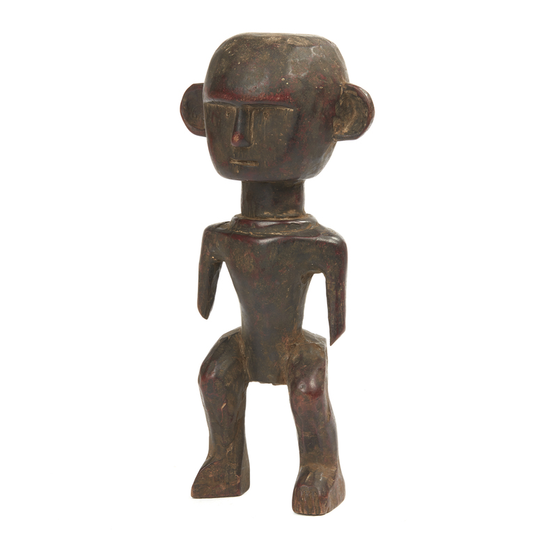 Sambaa Wood Standing Figure